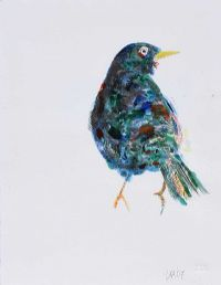 BLACKBIRD NUMBER VII by Conrad Atkinson at Ross's Auctions