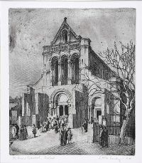 SAINT ANNE'S CATHEDRAL, BELFAST by J. Mc A. Smiley at Ross's Auctions