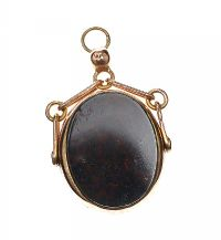 9CT GOLD FOB at Ross's Jewellery Auctions