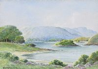 LOUGH GILL, COUNTY SLIGO by George W.  Morrison at Ross's Auctions