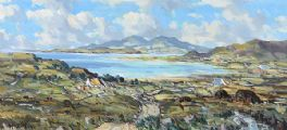 TOWARDS ARANMORE, DONEGAL by Henry J. Foy at Ross's Auctions