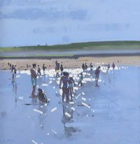 BRIGHT LIGHT, LAHINCH by John Morris at Ross's Auctions