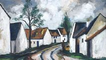 IRISH VILLAGE by Markey Robinson at Ross's Auctions
