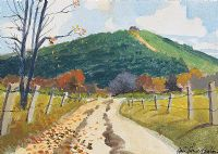 ROAD TO THE HILL by John Francis Skelton at Ross's Auctions