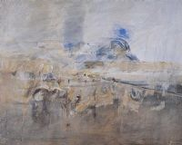 LANDSCAPE TOWARDS DIVIS MOUNTAIN by Basil Blackshaw HRHA HRUA at Ross's Auctions