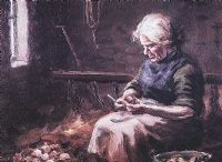 MARY ELLEN CUTTING SEED by Charles McAuley at Ross's Auctions
