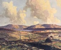 LOUGH ANURE, COUNTY DONEGAL by James Humbert Craig RHA RUA at Ross's Auctions