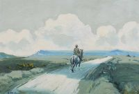 ON THE ROAD HOME by Charles McAuley at Ross's Auctions