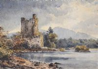 ROSS CASTLE, KILLARNEY by Helen Colville at Ross's Auctions