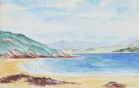 BEACH, DONEGAL by Nora Colton at Ross's Auctions