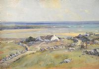 NEAR ROSBEG, COUNTY DONEGAL by James Humbert Craig RHA RUA at Ross's Auctions