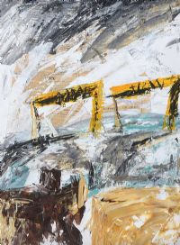 HARLAND & WOLFF SHIPYARD by Alison Carissa Aiken at Ross's Auctions