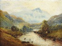IN THE LLEDR VALLEY by Alfred De Breanski Junior at Ross's Auctions