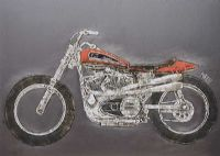 DIRT TRACK RACER by Jonathan Aiken at Ross's Auctions