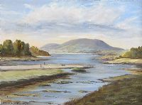 MULROY BAY, DONEGAL by Oscar Miller at Ross's Auctions