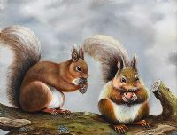 TWO SQUIRRELS by Edward McNulty at Ross's Auctions