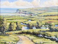 CUSHENDUN, COUNTY ANTRIM by J. Fitzgerald at Ross's Auctions