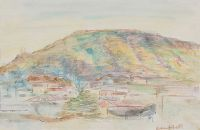 SPANISH LANDSCAPE by George Campbell RHA RUA at Ross's Auctions
