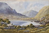 BLUE LOUGH, MOURNE MOUNTAINS by Ursula Spry at Ross's Auctions