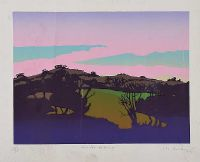 WINTER EVENING by David Milward at Ross's Auctions
