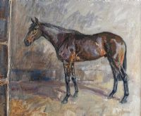 THE THOROUGHBRED by Basil Blackshaw HRHA HRUA at Ross's Auctions