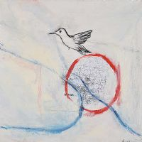 BIRD OVER ANTRIM by Alyson Carissa Akin at Ross's Auctions