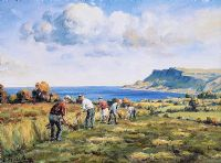 CUTTING THE HAY by Charles McAuley at Ross's Auctions