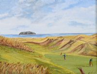 BALLYLIFFIN GOLF COURSE by Rosemary Wilson at Ross's Auctions