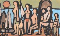 BATHERS by Markey Robinson at Ross's Auctions