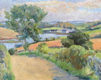 LANDSCAPE, KILLINCHY by Romeo Charles Toogood RUA ARCA at Ross's Auctions