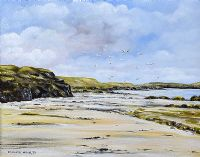 NEAR ROSSES POINT, DONEGAL by Edward McNulty at Ross's Auctions