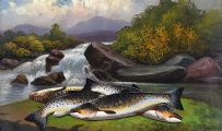 SALMON by J.B. Russell at Ross's Auctions