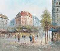PARIS STREET by Burnett at Ross's Auctions