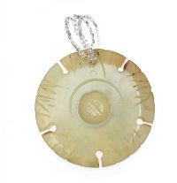 ANTIQUE JADE PENDANT at Ross's Jewellery Auctions