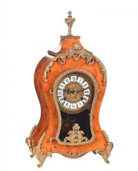 FRENCH STYLE MANTEL CLOCK at Ross's Auctions