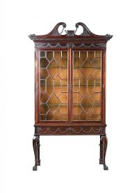 EARLY TWENTIETH CENTURY GLAZED DISPLAY CABINET at Ross's Auctions