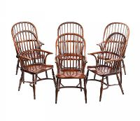 SET OF SIX WINDSOR CHAIRS at Ross's Auctions