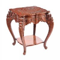 ORIENTAL HARDWOOD TABLE at Ross's Auctions