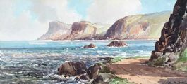 FAIRHEAD FROM BALLYCASTLE by Rowland Hill RUA at Ross's Auctions