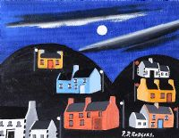 MY ISLAND OF TORY AT NIGHT by Patsy Dan  Rodgers at Ross's Auctions
