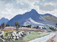 IN THE MOURNES, SLIEVE BINNIAN & BEARNAGH by Anne Primrose  Jury HRUA at Ross's Auctions