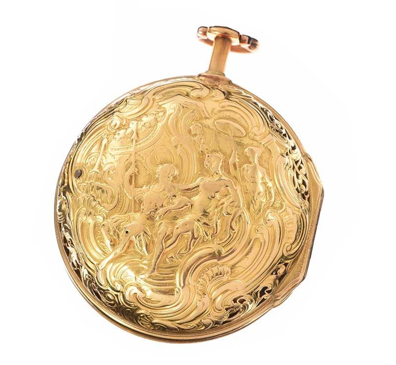 18TH CENTURY 18CT GOLD POCKET WATCH at Ross's Online Art Auctions
