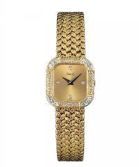 PIAGET 18CT GOLD DIAMOND-SET WATCH at Ross's Auctions
