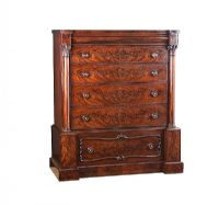 VICTORIAN MAHOGANY SCOTCH CHEST OF DRAWERS at Ross's Auctions