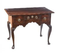 GEORGIAN MAHOGANY LOWBOY at Ross's Auctions