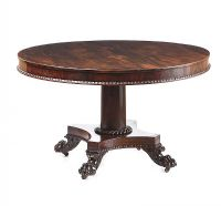 REGENCY MAHOGANY BREAKFAST TABLE at Ross's Auctions