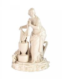 FIRST PERIOD BELLEEK PARIAN FIGURE ERIN at Ross's Auctions