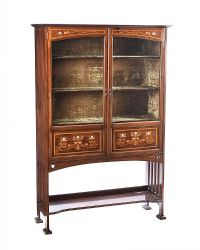 ARTS & CRAFTS DISPLAY CABINET at Ross's Auctions