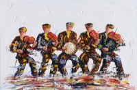 MUSICIANS by Darren Paul at Ross's Auctions