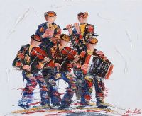 MUSICAL QUINTET by Darren Paul at Ross's Auctions
